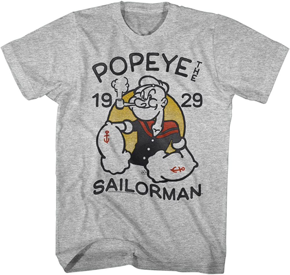 Popeye The Sailor Man Anchor Tat A Attention brand Arm 1929 Comic Tattoo New item Muscles