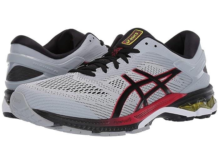 ASICS  GEL-Kayano 26 (Grey/Black) Mens Running Shoes