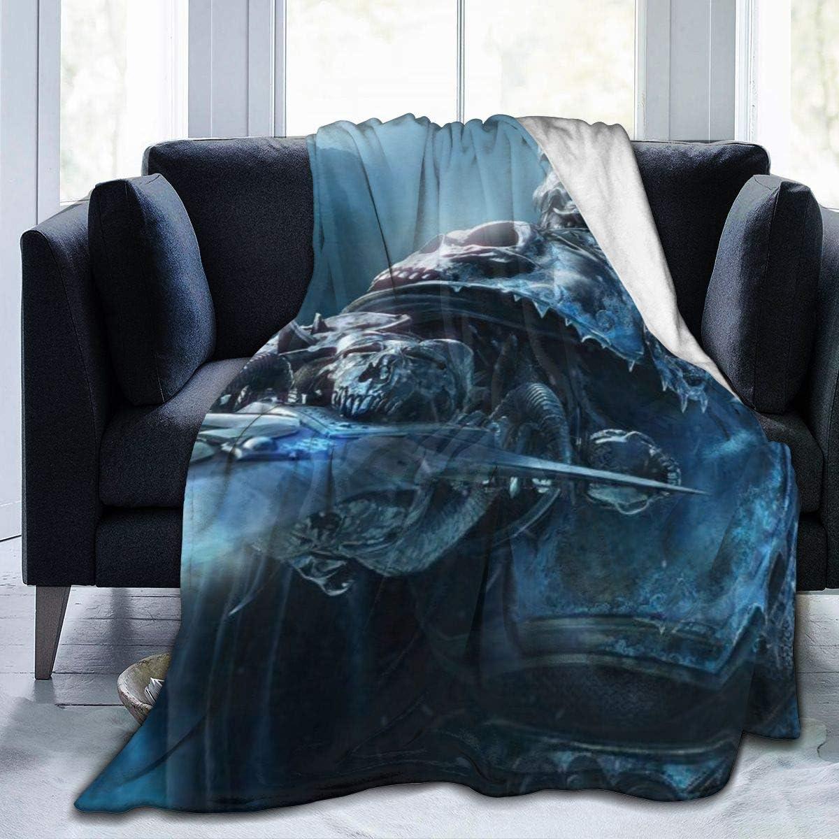 8. World of Warcraft Throw Blanket