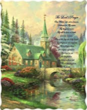 """The Lord's Prayer"" Officially Licensed Quilted Throw 50 in x 60 in"