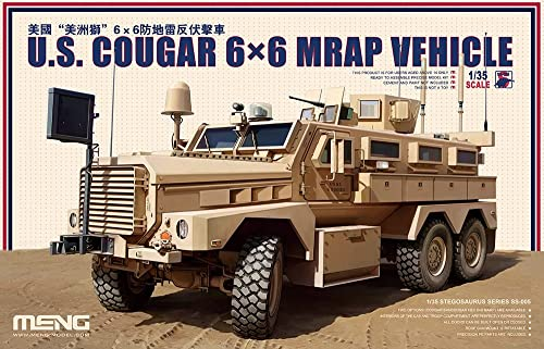 Unbekannt Meng SS005 - 1 35 US Cougar 6 x 6 MRAP Vehicle