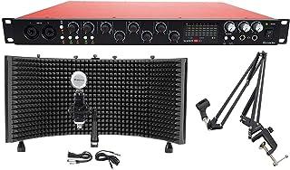 Focusrite SCARLETT 18I20 2nd Gen USB 2.0 Audio Interface+Studio Mic+Shield+Boom