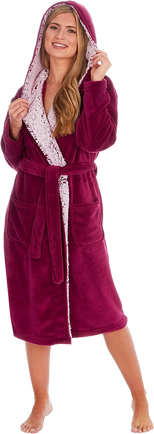 Comfy /& Cosy Dressing Gown KATE MORGAN Ladies Soft