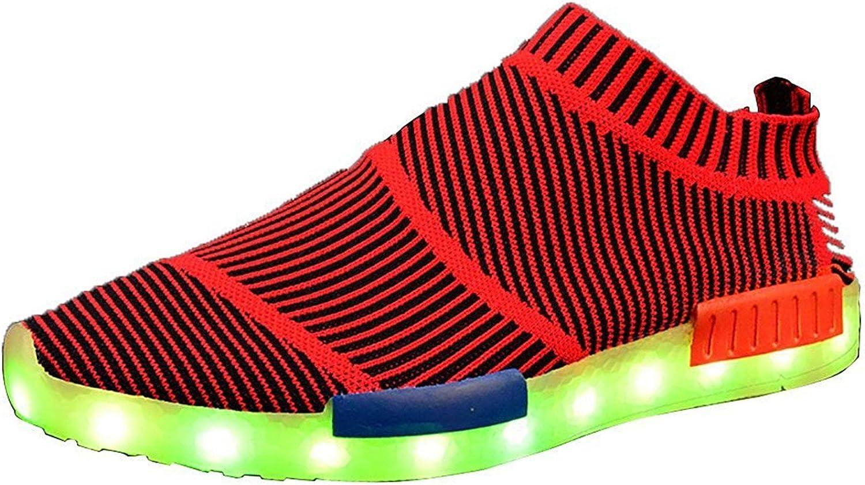 Reinhar Prevailingshoes Unisex led Glow shoes Men & Women USB Rechargeable Light led shoes for Adults led shoes