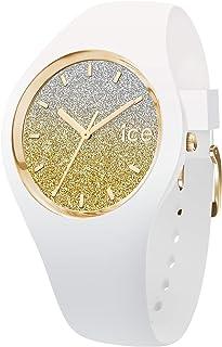 Ice-Watch - ICE lo White gold - Montre blanche pour femme avec bracelet en silicone
