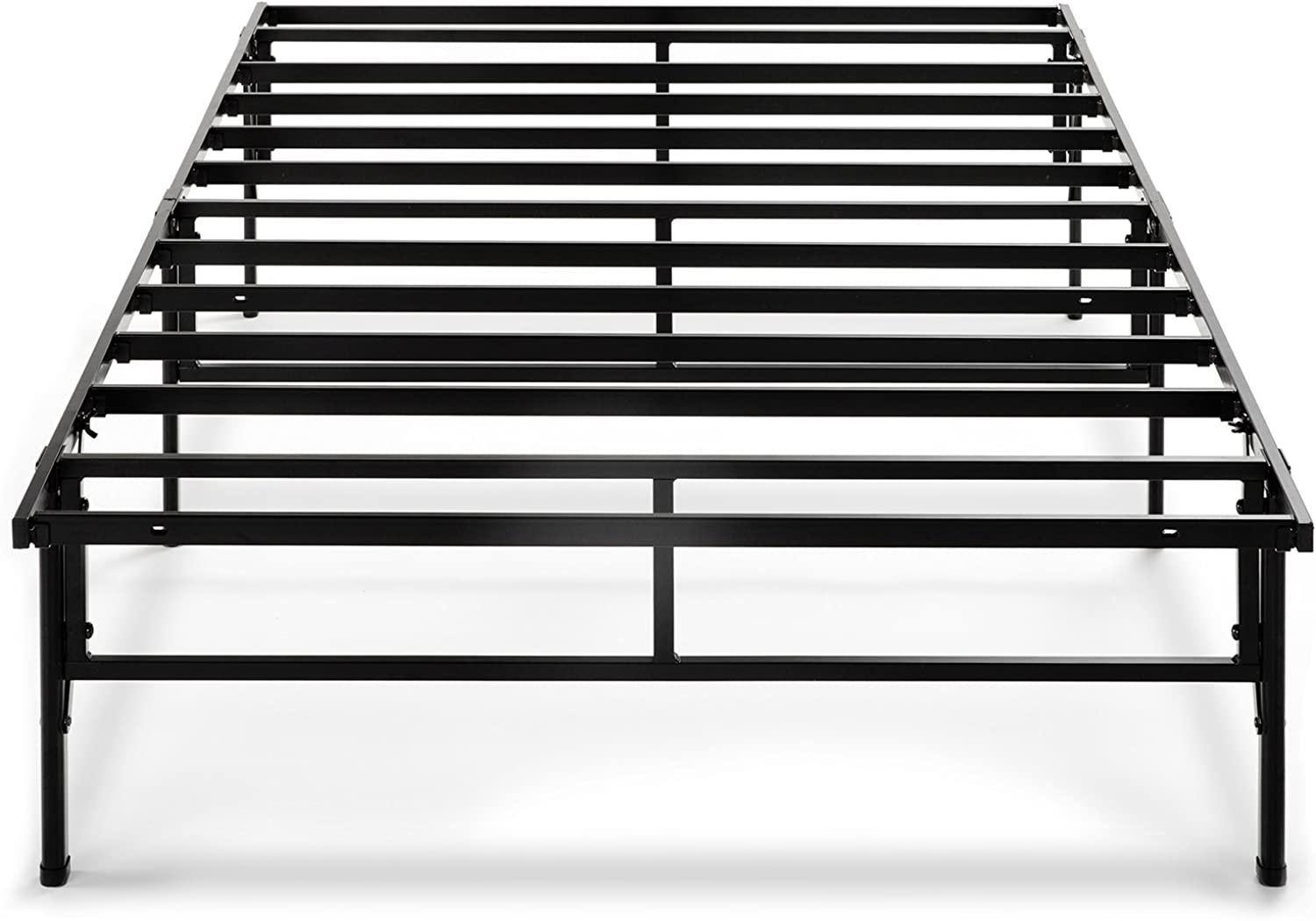 Zinus 14 Inch Easy To Assemble SmartBase Mattress Foundation   Platform Bed Frame   Box Spring Replacement, Twin XL