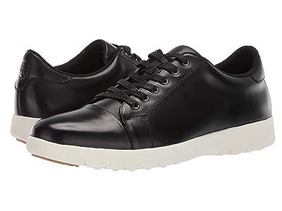 Stacy Adams Hawkins Cap Toe Sneaker (Black) Men
