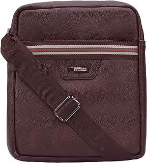 ESBEDA Men's Sling Bag (Set of , Brown)