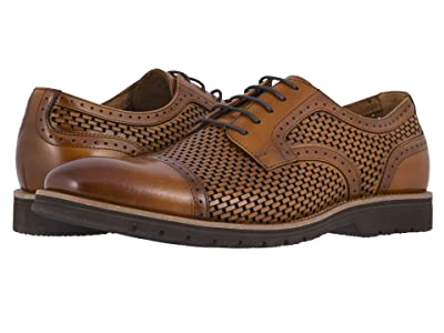 Stacy Adams Ellery Cap Toe Oxford (Tan) Men