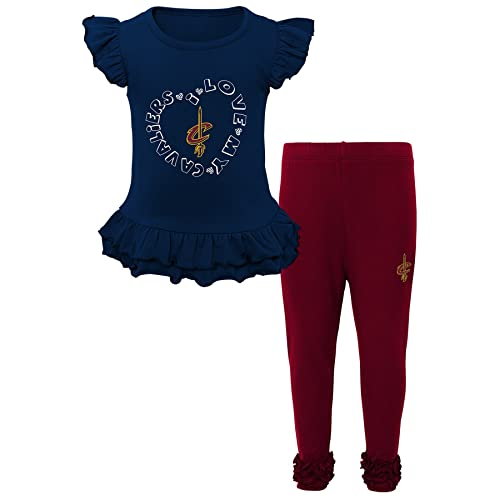 official photos 7e121 01d5c Cleveland Cavaliers Toddler Clothing: Amazon.com