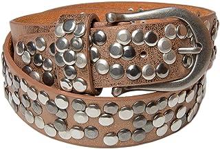 cinturón de remaches en estilo vintage, reducible 03010008