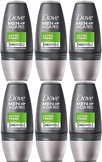 Dove 48 Hours Roll On Stick Extra Fresh Anti-perspirant Deodorant, 6 Packs x 50ml / 1.70 Fl.Oz