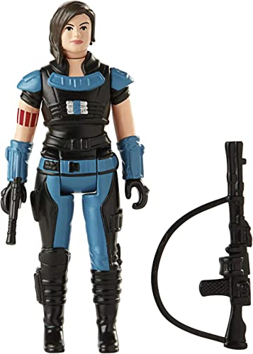 wholesale Star Wars Retro Collection Cara Dune Toy 3.75-Inch-Scale high quality The Mandalorian Action Figure with Accessories, Toys outlet sale for Kids Ages 4 and Up sale