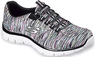 Skechers 女式 Sport Empire 休闲织物多色运动运动鞋