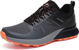 حذاء رياضي للركض للرجال من دانتو برقبة منخفضة من الأعلى لرحلات المشي لمسافات طويلة خفيفة الوزن للتخييم والرياضي