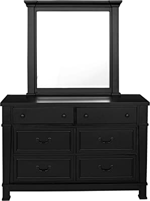 Standard Furniture Annapolis 6-Drawer, Black Youth Dresser