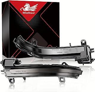 WinPower LED Dynamisk Blinkerslampor Indikator för vingspegel Sidospegel Blinker Kompatibel med BMW F20 F21 F22 F23 F30 F3...