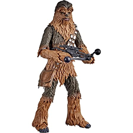 Star Wars The Black Series Chewbacca 6-Inch Scale Star Wars: The Empire Strikes Back 40th Anniversary Collectible Figure, Kids Ages 4 and Up