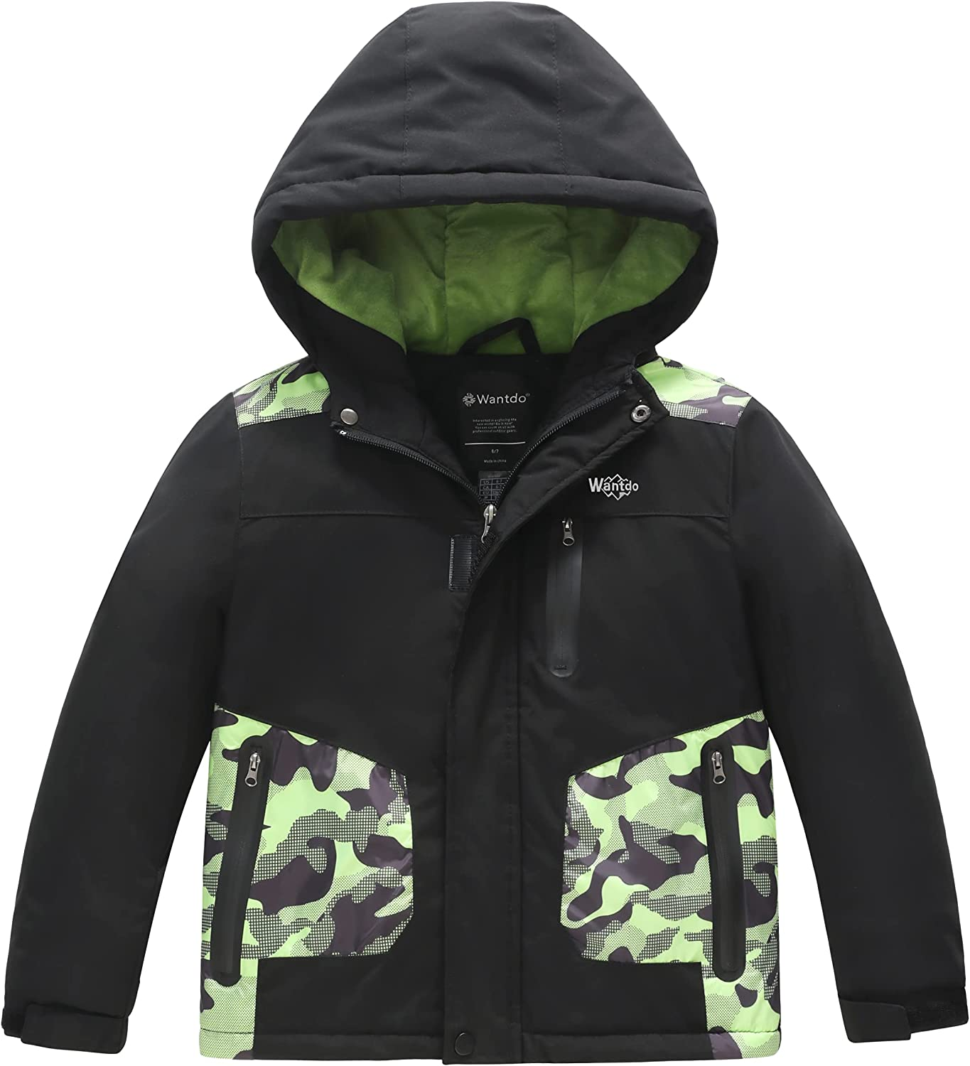 Super sale period limited Wantdo Boy's Waterproof Skiing Insulated Jacket 2021 spring and summer new Snowboard