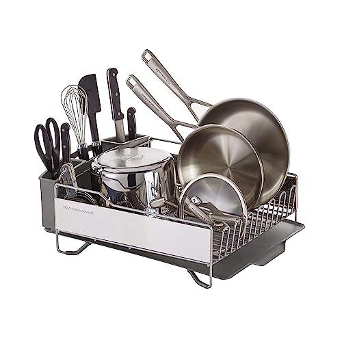 KitchenAid Full Size Dish Rack, Light Grey