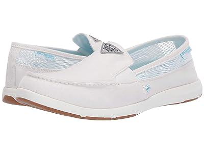 Columbia Delraytm II Slip PFG (White/Coastal Blue) Women