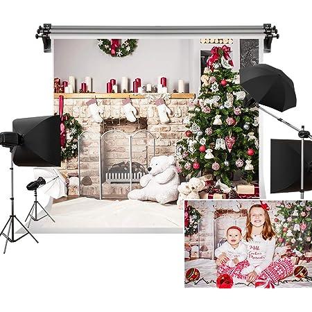 Kate 5x7ft Weihnachtsbaum Hintergrund Fotografie Weiß Kamera