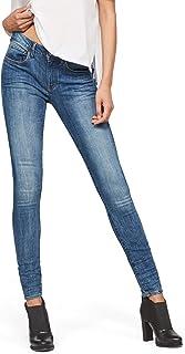 G-STAR RAW 3301 D-Mid Waist Super Skinny Jeans Ajustados para Mujer