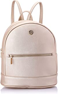 Club Aldo Faux Leather Front-Pocket Top-Handle Backpack for Women - Gold