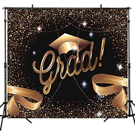 8x8FT Vinyl Photography Backdrop,Funny,Thank You Smiley Face Background for Graduation Prom Dance Decor Photo Booth Studio Prop Banner