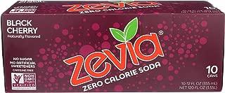 Zevia, Soda Black Cherry, 12 Fl Oz, 10 Pack