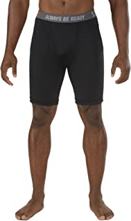 Tactical Men's 9-Inch Performance Brief, Polyester Spandex, Moisture Wicking, Style 40156