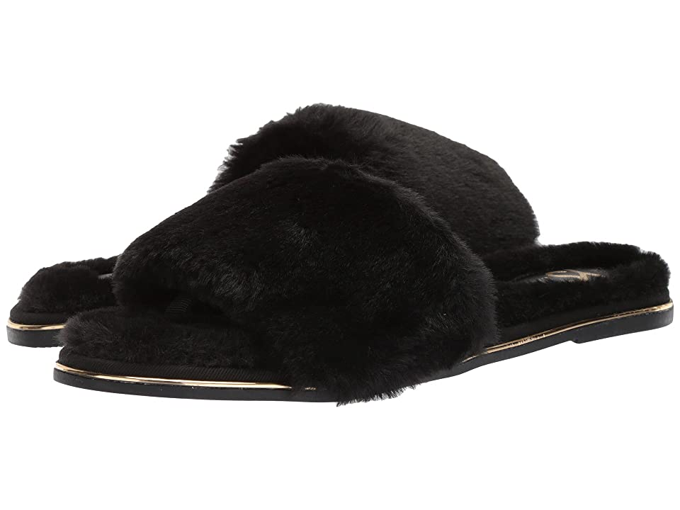Yosi Samra Rose Slide (Black) Women
