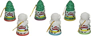 Play-Doh Christmas Tree and Snowman Holiday Toy 6-Pack Bundle for Kids 2 Years and Up, Assorted Colors (Amazon Exclusive)