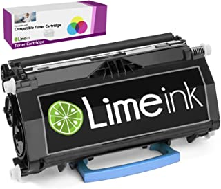 Limeink Black Compatible E260 High Yield Laser Toner Cartridges for Lexmark E260 E260d E260dn E360 E360d E360dn E460 E460dn E460dw E460dtn E462 E462dtn E462 E462dtn 360dn Ink Printer 260 260d 260dn