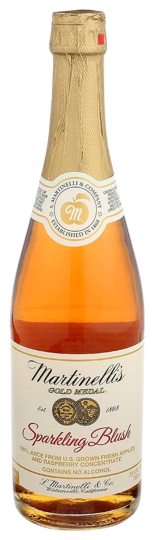 Martinelli's Sparkling Blush - 25.4 oz bottle