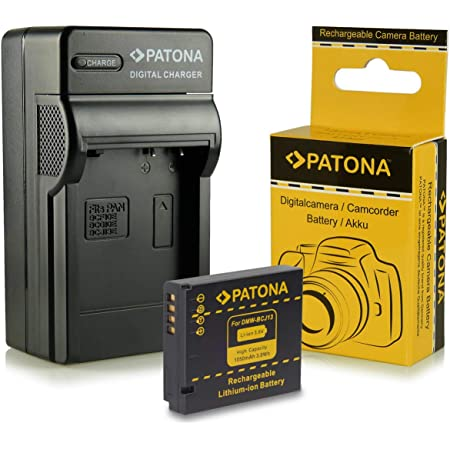 Patona 3in1 Ladegerät Akku Kompatibel Mit Panasonic Kamera