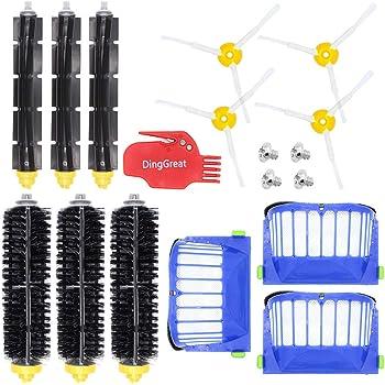 Filtro de Repuesto Sairis para iRobot Roomba Serie 6 Robot de Limpieza por aspiraci/ón Filtro de Red Accesorios pr/ácticos para aspiradora