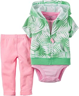 Carter's Baby Girls' 3 Piece Cardigan Set 121g377
