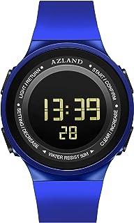 AZLAND Boys Girls Watches,Sports Watch,Digital Watch Features Night-Light,Swim,Frozen,Waterproof Kids Watch