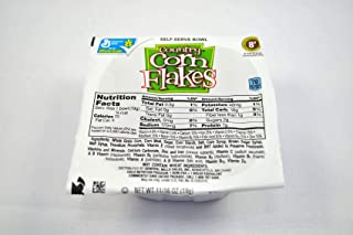 General Mills Corn Flakes - Country Cereal, Bowl Pak, 0.69 Ounce -- 96 per case.