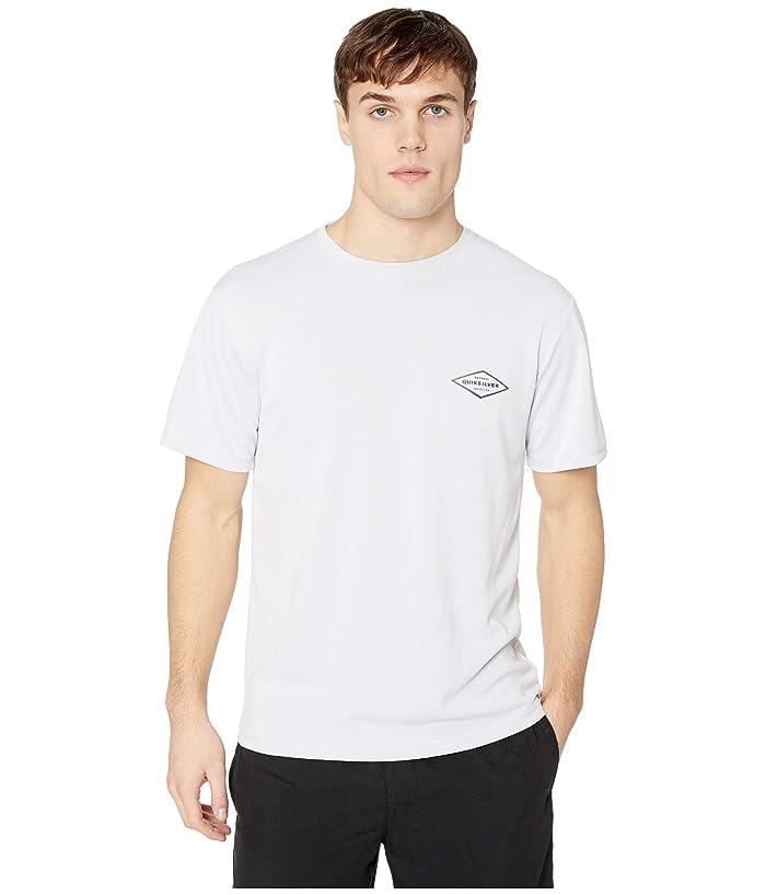 Quiksilver Waterman Gut Check Short Sleeve (White) Men