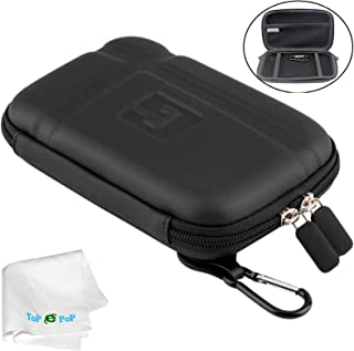 TOPEPOP GPS Carrying Case Portable Hard Shell Protective Pouch Storage Bag Hard GPS Case Compatible with Car GPS Navigator Garmin Nuvi Tomtom Magellan Roadmate