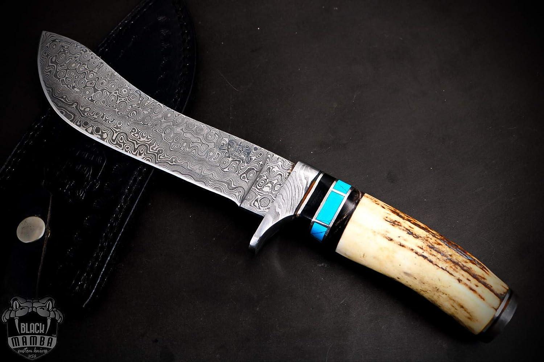 BLACK MAMBA KNIVES BMK-156 Cenchoa Snake Inches Knife All Atlanta Mall items free shipping 7 Long 12