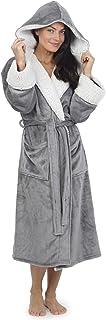 comprar comparacion Vestidos de Mujer Bata de pingüino Búho Vestidos Mujer Batas de Felpa Novedad Animal Hood Super Soft Touch Fleece Batas de...