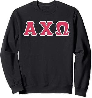 Greek letters - Alpha, Chi, and Omega Sweatshirt