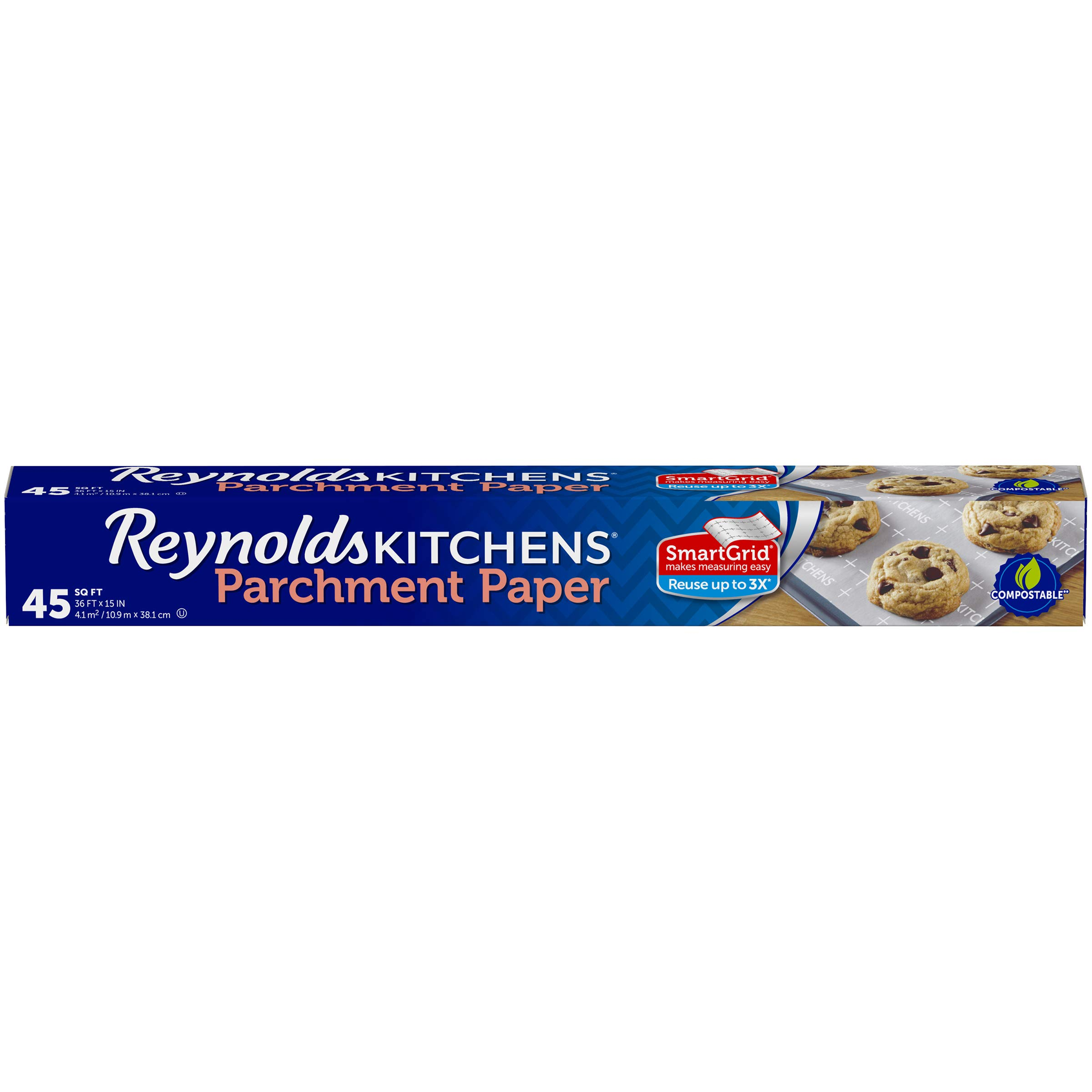 Reynolds Kitchens Parchment SmartGrid Non Stick