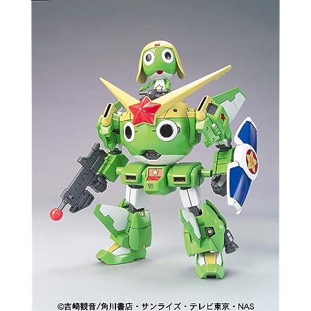 ケロロ軍曹プラモコレクション ケロロロボMk-2 色分け済みプラモデル