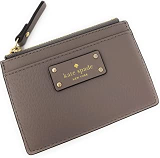 Kate Spade Grove Street Adi Wallet Coin Purse Business Credit Card Holder Case Cityscape Grey