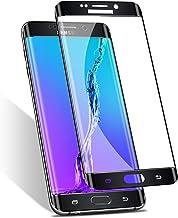 Elebase Galaxy S6 Edge Screen Protector, 3D CurvedTempered Glass,Anti-Scratch,9H..