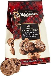 Walkers Shortbread 迷你比利时巧克力曲奇饼干,4.4盎司/125克(12袋装)